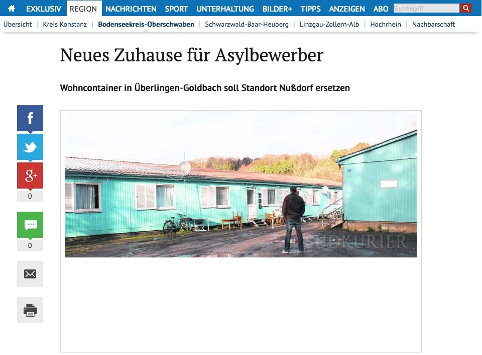 Südkurier-Screenshot