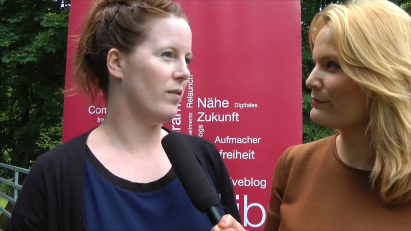 Sarah Brasack im Interview